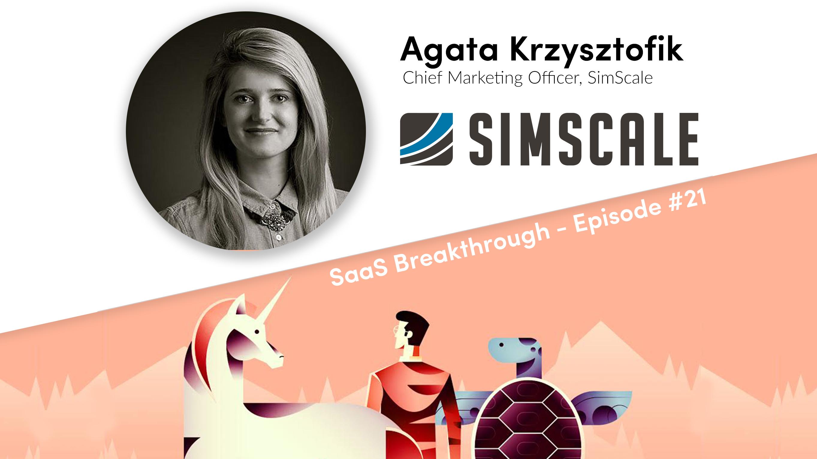 SaaS Breakthrough - Featuring Agata Krzysztofik - The Demio Blog