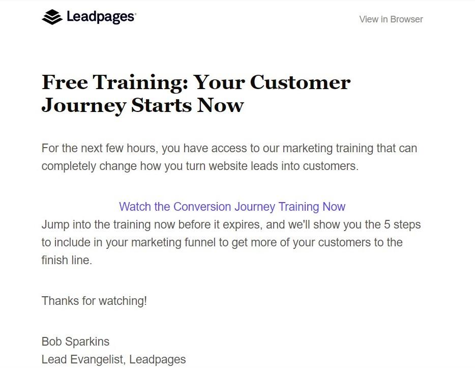 Leadpages Onboarding Webinar