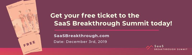 saas breakthrough summit