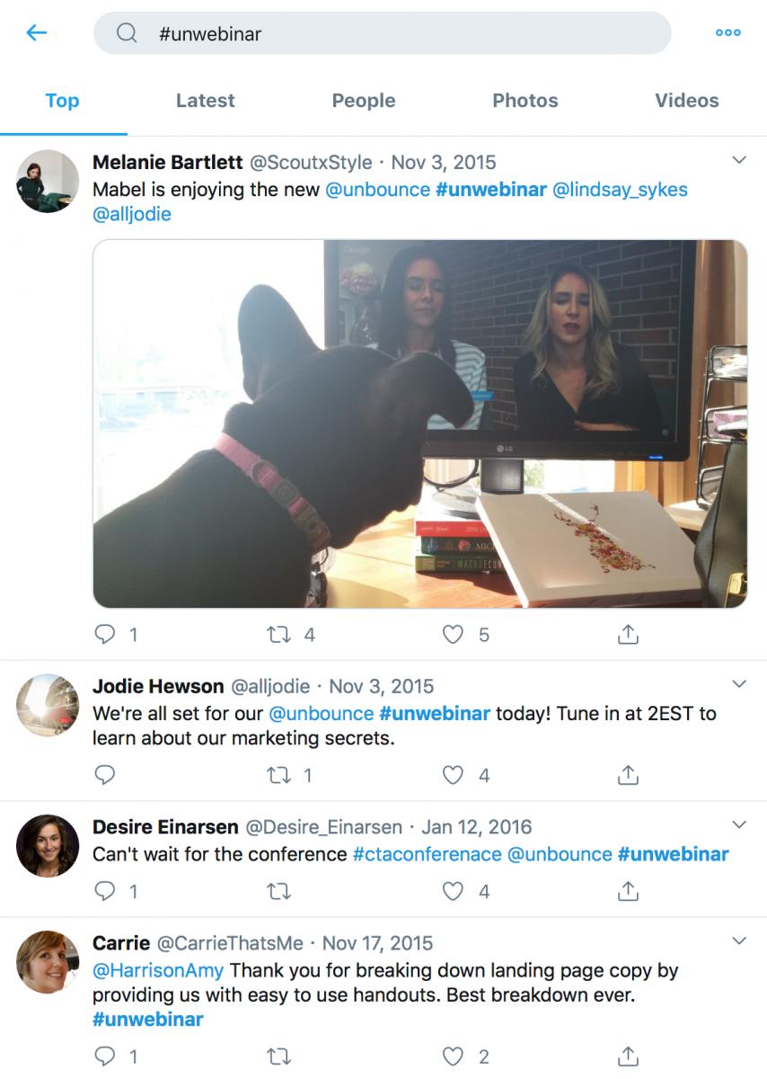 SaaS-Webinars-Unbounce-Hashtag