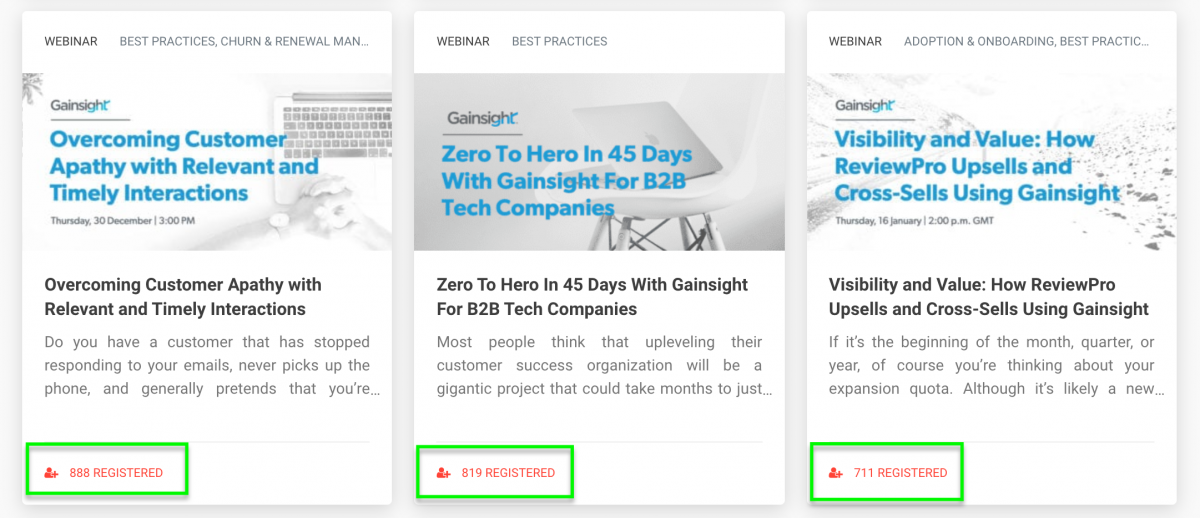 SaaS-Webinars-Gainsight-Registration-Numbers