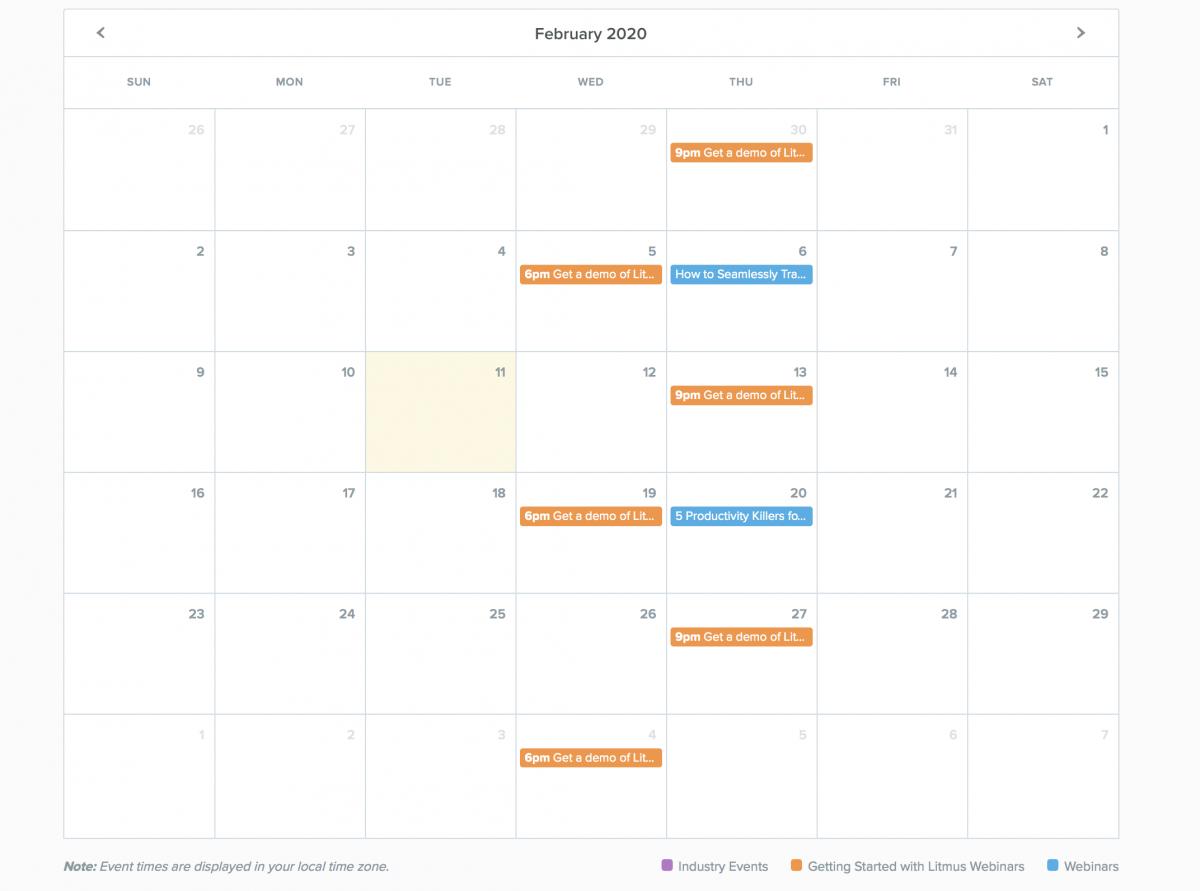 SaaS-Webinars-Litmus-Calendar