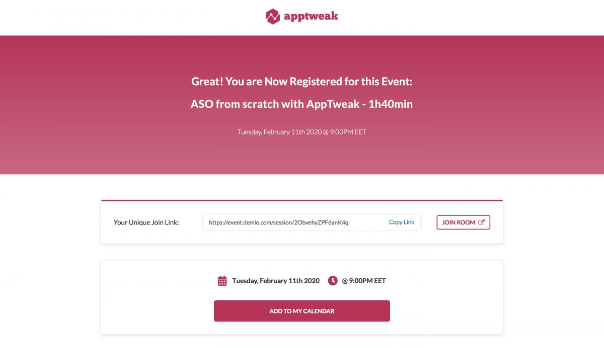 SaaS-Webinars-AppTweak-After-Registering-Landing-Page