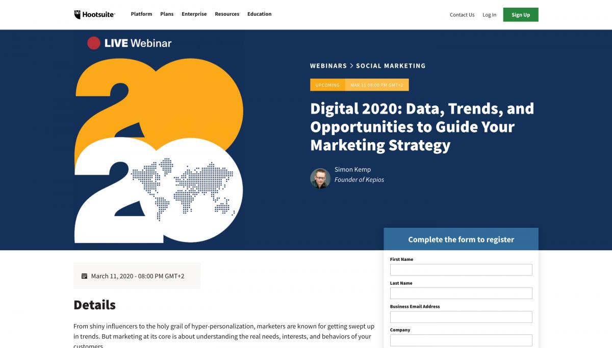SaaS-Webinars-HootSuite-Content