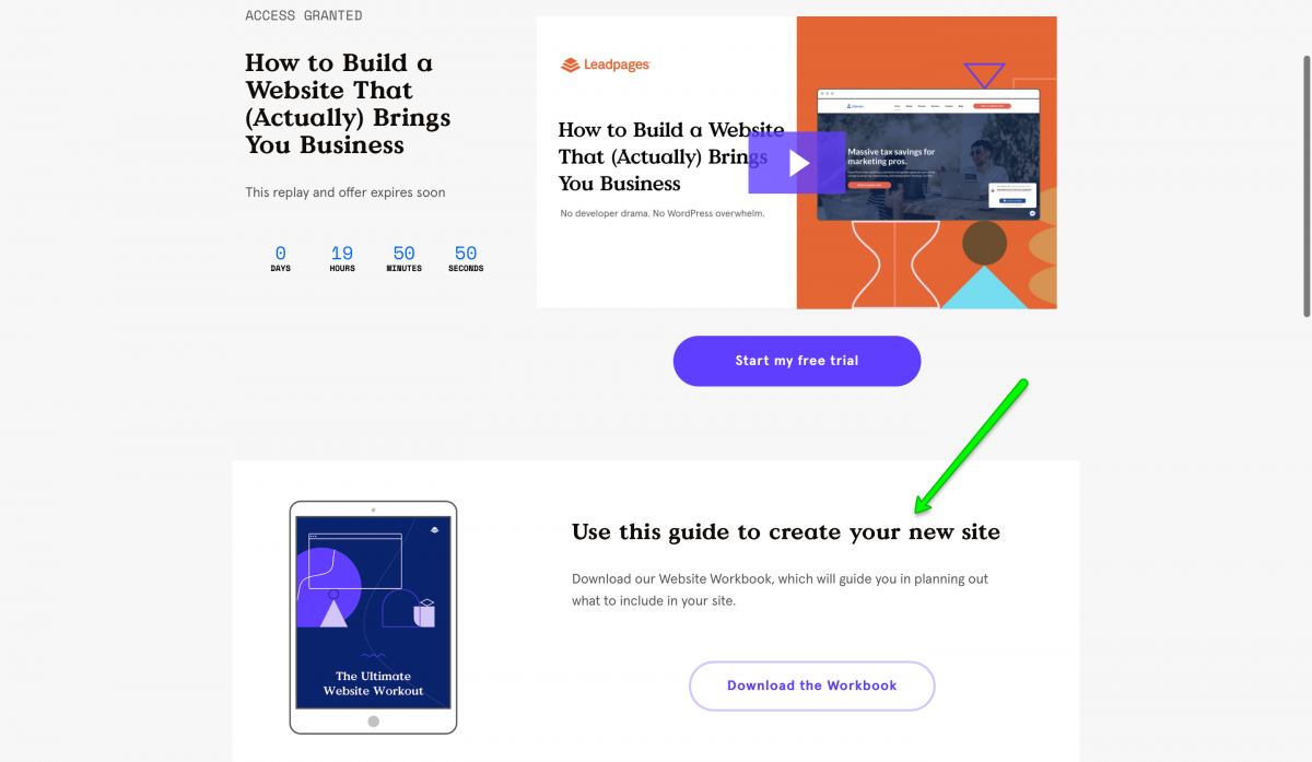 SaaS-Webinars-Leadpages-Workbook