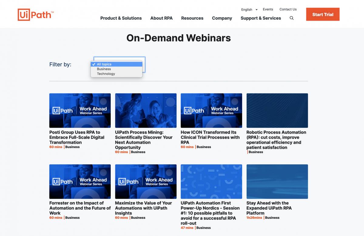 UiPath-On-Demand-Webinars