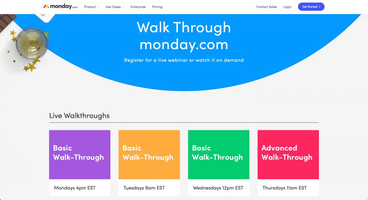 Walk-Through-Monday