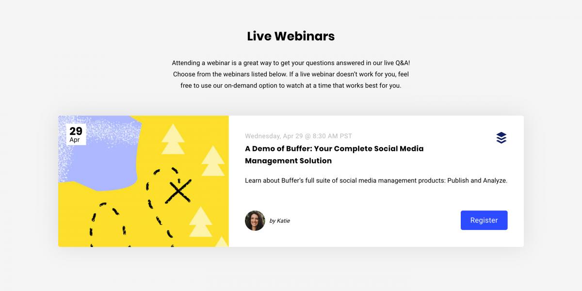 Buffer-Live-Webinars-Demo