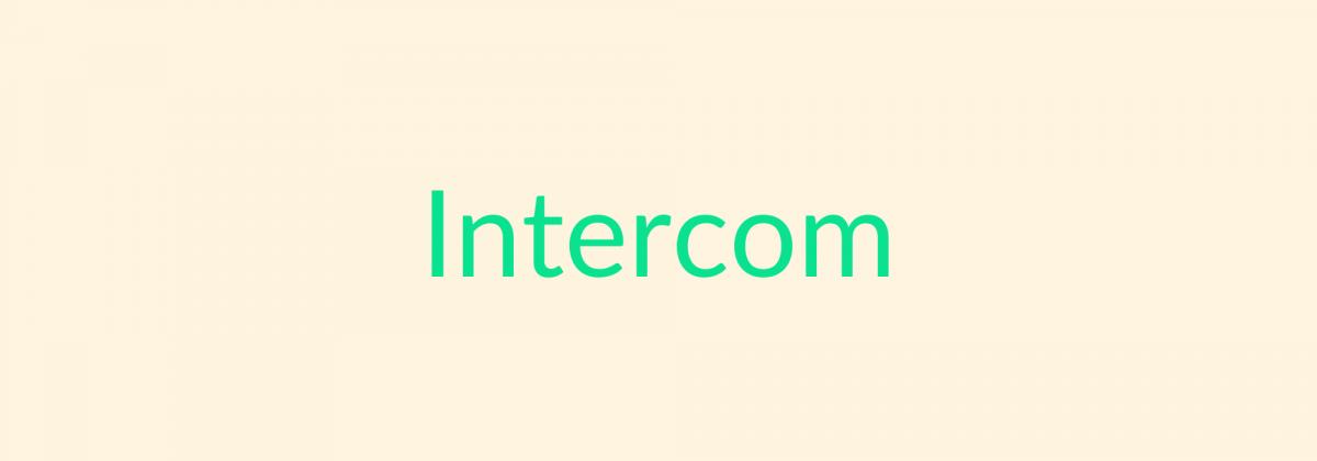 Intercom-Webinars