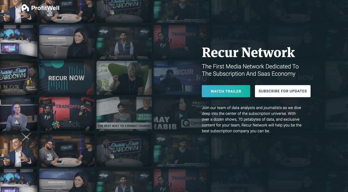 ProfitWell-Recur-Network