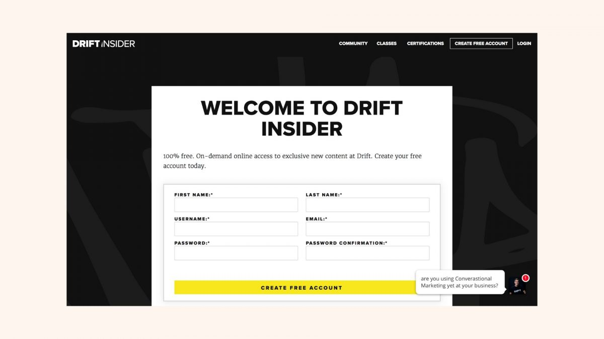 Drift-Insider-Subscription