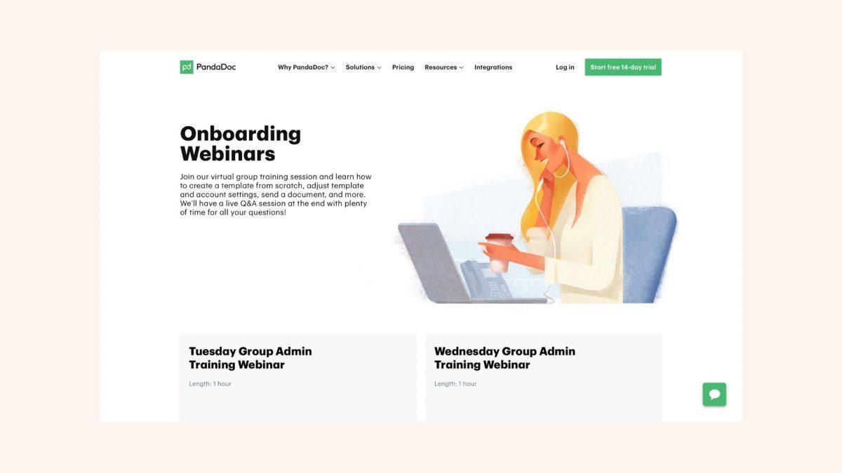 PandaDoc-Webinars