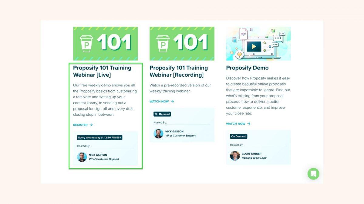 Proposify-Webinars