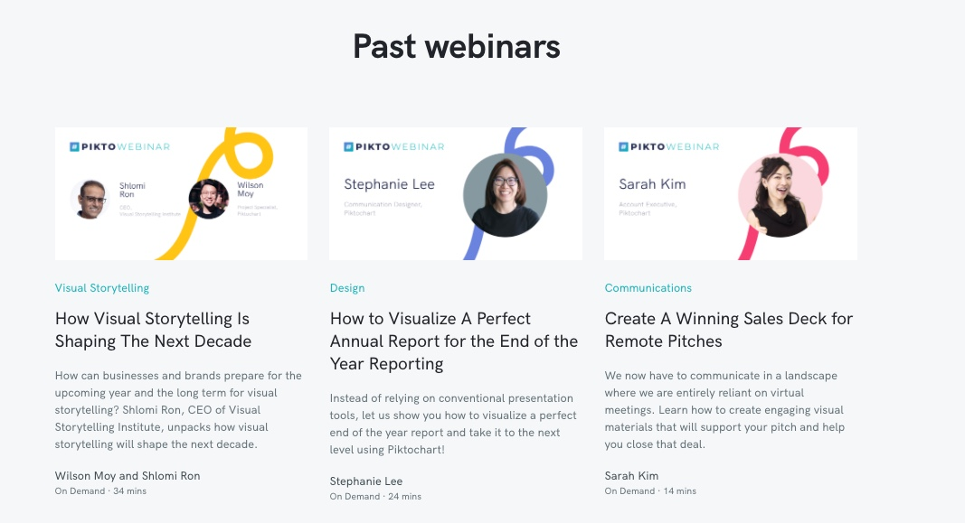 webinar promotion example