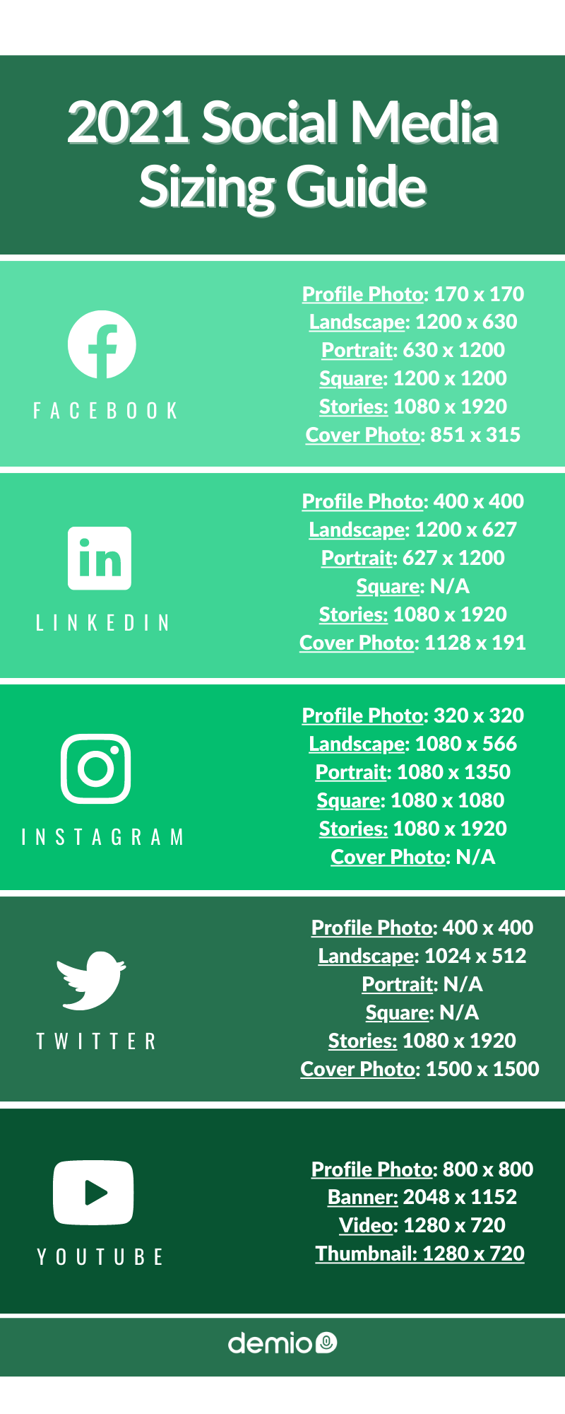 2021 social media sizing guide chart