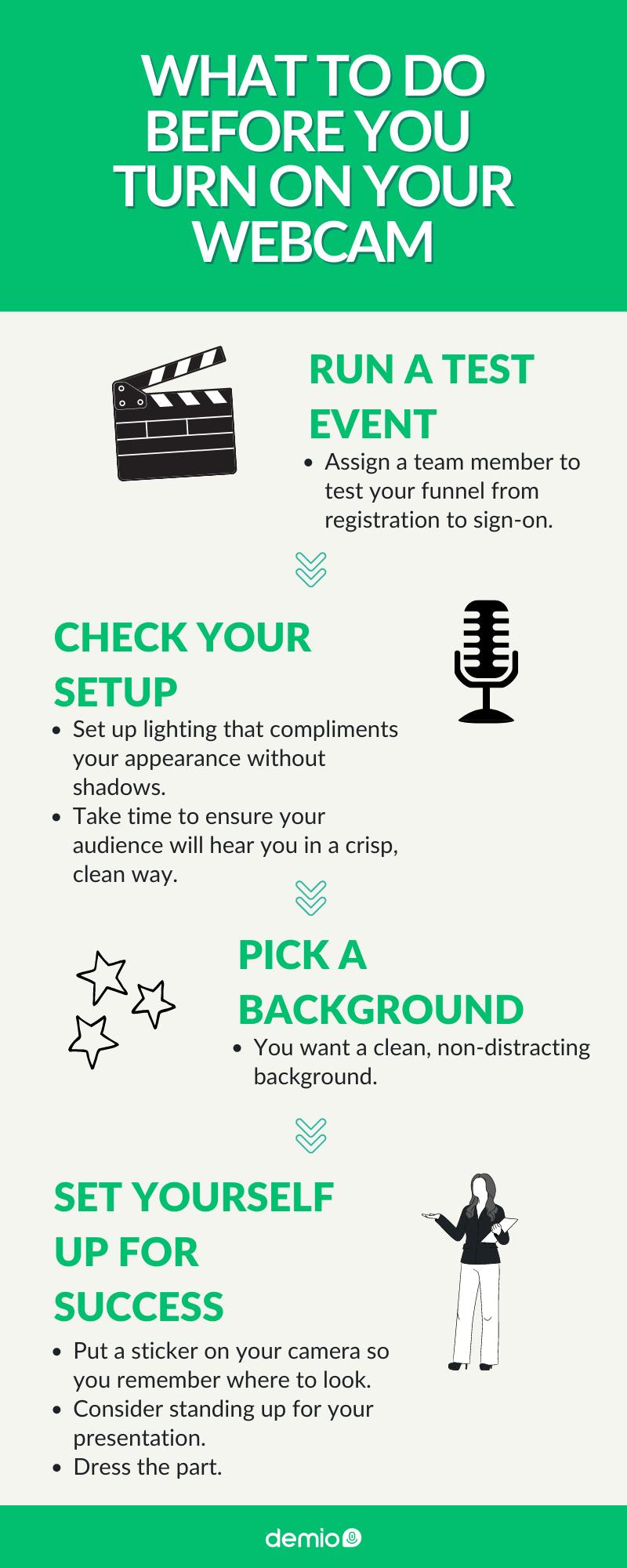 Audio and Video Pre-Check